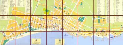 Street map of Cala Millor Almeria