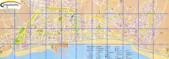 Fuengirola map Malaga