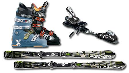Ski hire Sierra Nevada