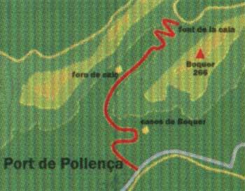 Pollenca Cala Boquer Route