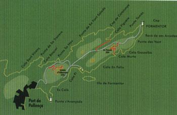 Formentor El Fumat i Cala Murta Route