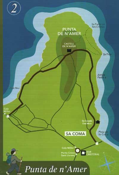 To Punta De Namer trekking route Mallorca travel guide