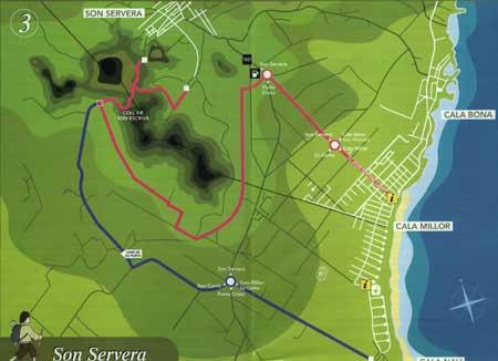 Cala Nau Route