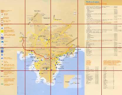 Map of Calvia Spain
