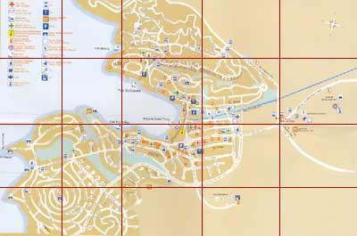 Map of Santa Ponsa Spain